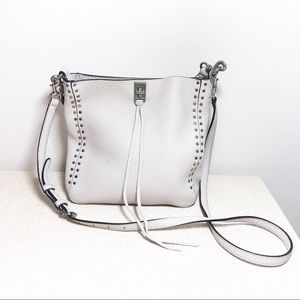 Rebecca Minkoff Darren Feed Small Bag In Putty